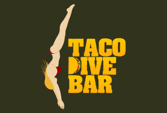 Taco Dive Bar Logo 1